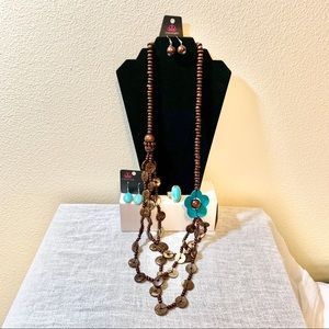 3 Piece Paparazzi Jewelry Bundle